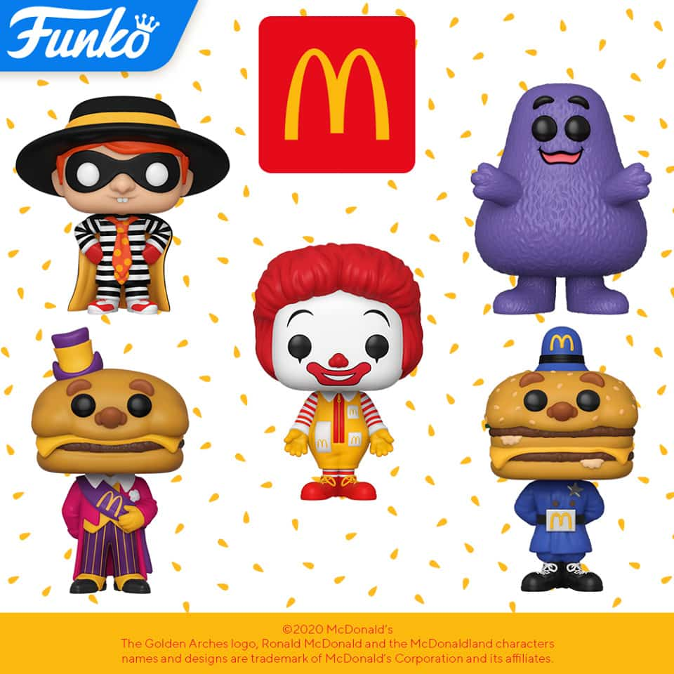 New Funko 2020 Funko Pop Ad Icons Mcdonald S Released Hot Stuff 4 Geeks Character » mayor mccheese appears in 3 issues. new funko 2020 funko pop ad icons