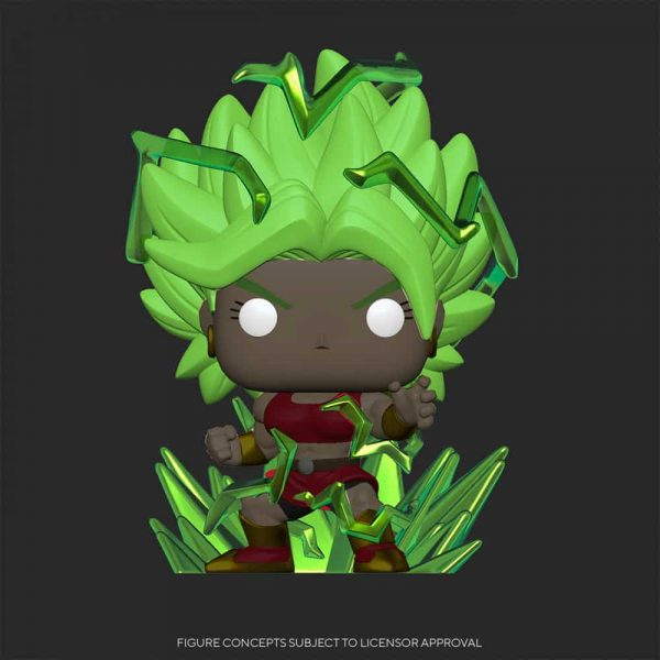 Funko Pop! Animation: Dragon Ball Super - Super Saiyan Kale Energy Base With Glow In The Dark (GITD) Chase Funko Pop! Vinyl Figure - Chalice Collectibles Exclusive