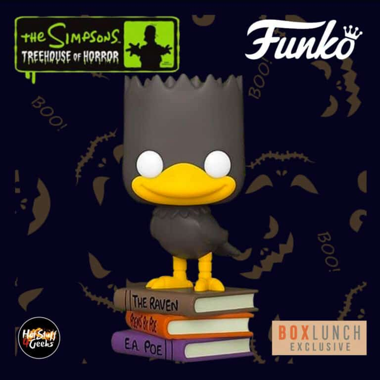 Funko Pop! Animation: The Simpsons Treehouse Of Horror (The Simpsons Halloween specials) - Bart as The Raven Pop! Vinyl Figure - BoxLunch Exclusive