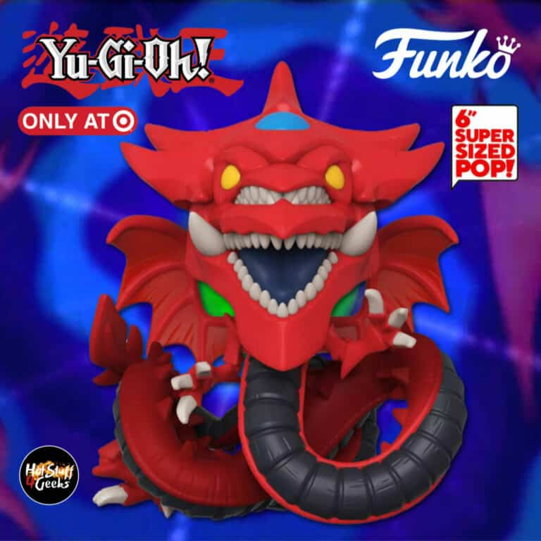 Funko Pop! Animation: Yu-Gi-Oh! - Slifer The Sky Dragon 6-Inch Funko Pop! Vinyl Figure - Target Exclusive