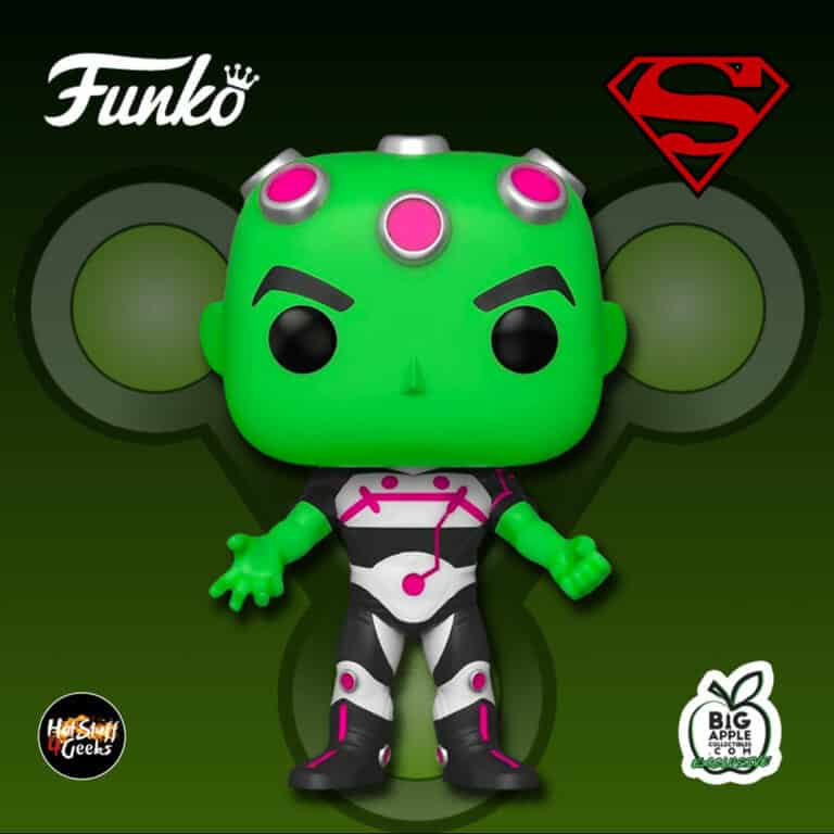 Funko Pop! DC Comics: Superman - Brainiac Funko Pop! Vinyl Figure - Big Apple Collectibles