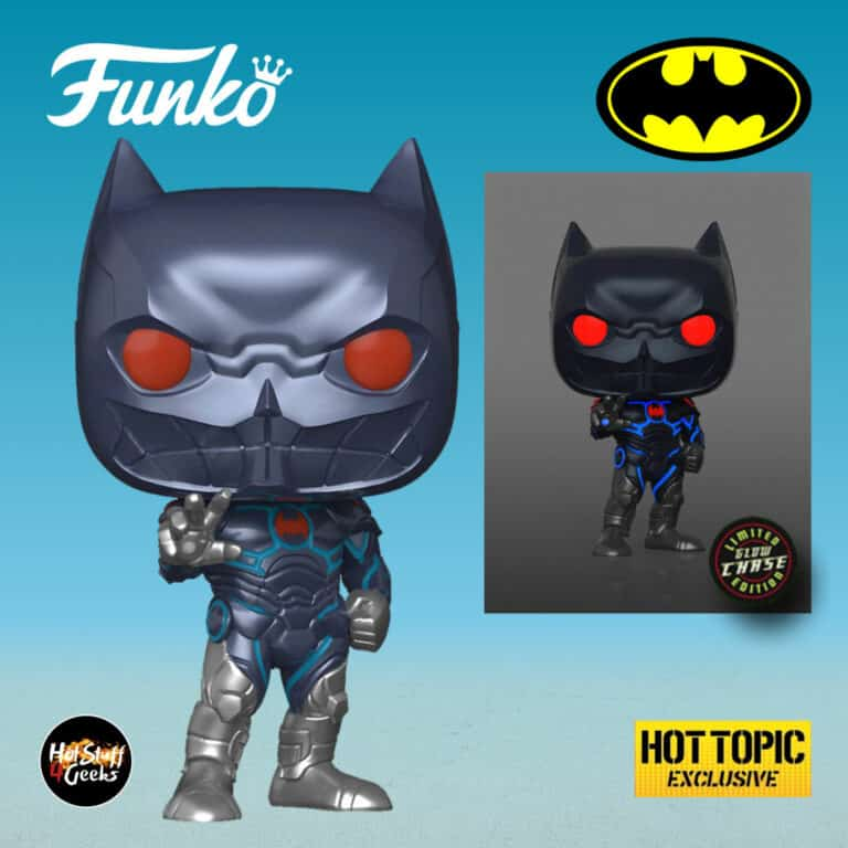 Funko Pop! Heroes DC Comics: Batman Murder Machine With Glow In The Dark (GITD) Chase Variant Funko Pop! Vinyl Figure - Hot Topic Exclusive