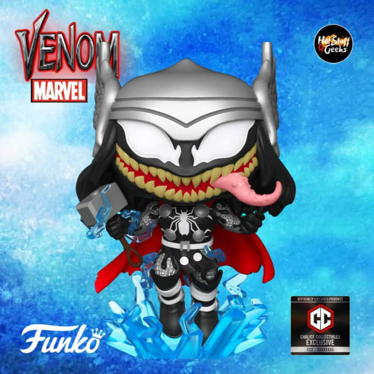Funko Pop! Marvel Venom: Venomized Thor Funko Pop! Vinyl Figure - Chalice Collectibles Exclusive