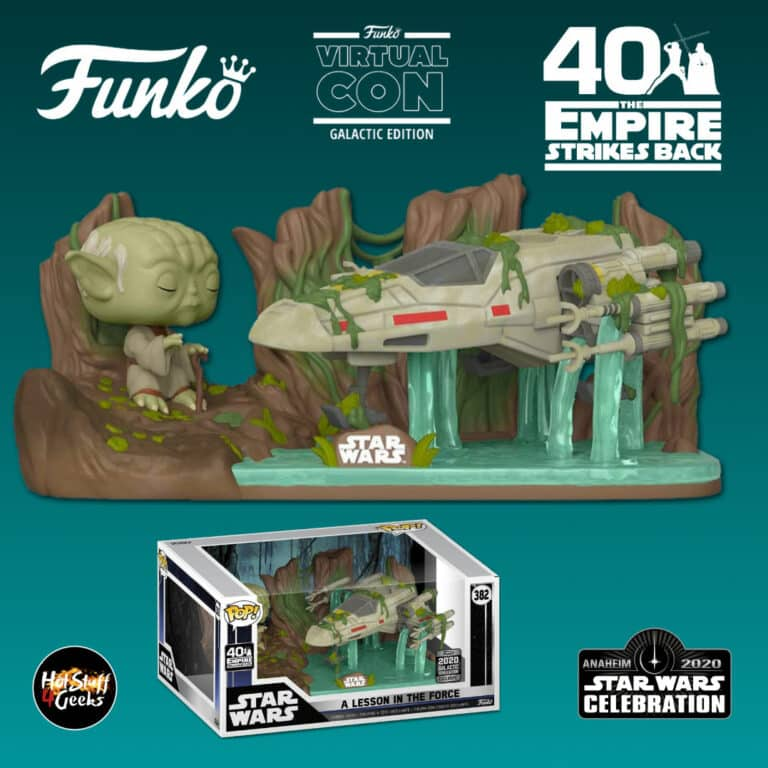 Funko Pop! Moments Star Wars: The Empire Strikes Back 40th Anniversary - A Lesson In Force Funko Pop! Vinyl Figure - Star Wars Celebration Anaheim 2020 Galactic Convention Exclusive