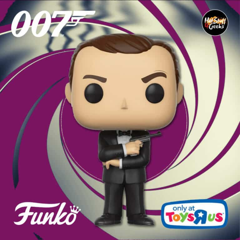 Funko Pop! Movies: 007 James Bond – Dr. No: James Bond Black Tux (Sean Connery) Funko Pop! Vinyl Figure - Toys R Us Exclusive
