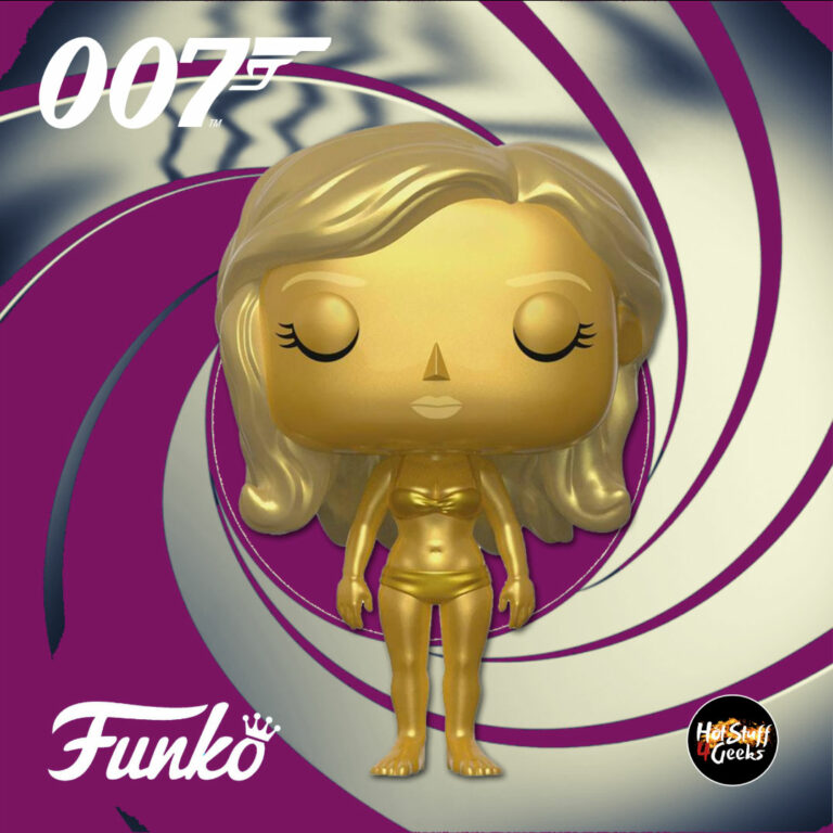 Funko Pop! Movies: 007 James Bond – Goldfinger: Golden Girl Funko Pop! Vinyl Figure