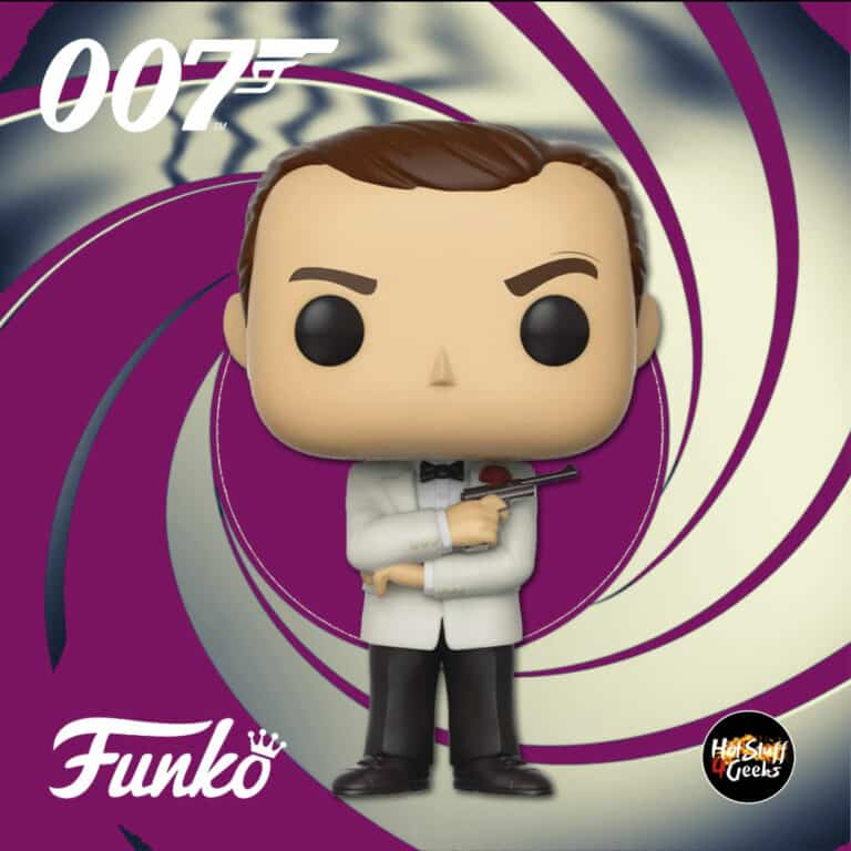 Funko Pop! Movies: 007 James Bond – Goldfinger: James Bond (Sean Connery) Funko Pop! Vinyl Figure