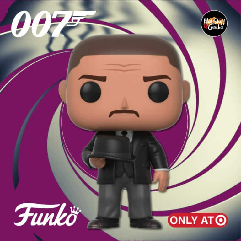 Funko Pop! Movies: 007 James Bond – Goldfinger: Oddjob Holding Hat Funko Pop! Vinyl Figure - Target Exclusive