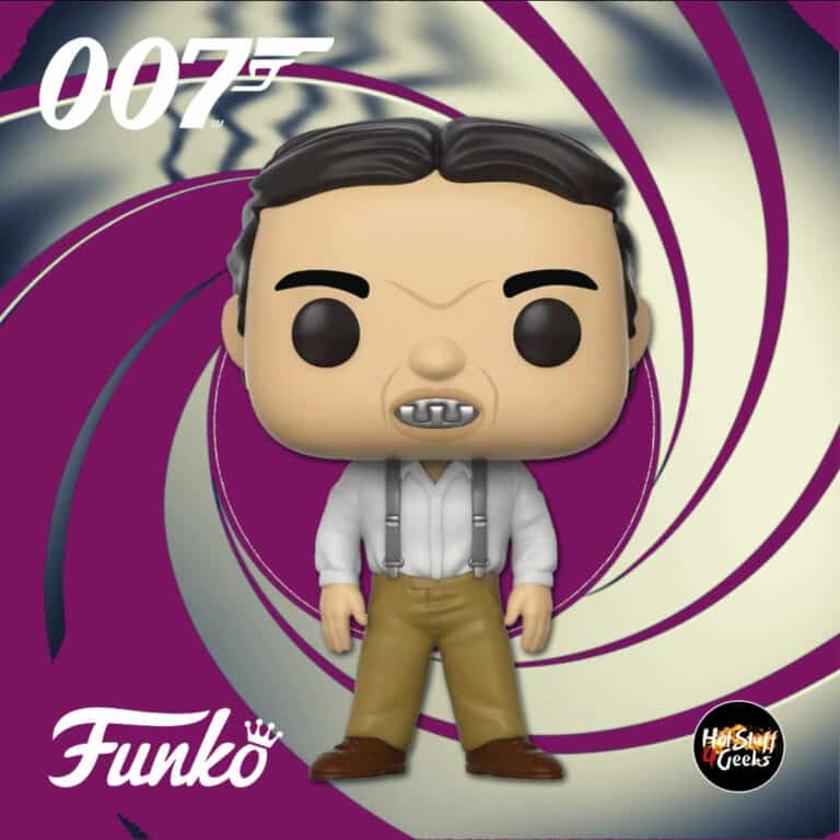 Funko Pop! Movies: 007 James Bond – The Spy Who Loved Me: Jaws Funko Pop! Vinyl Figure