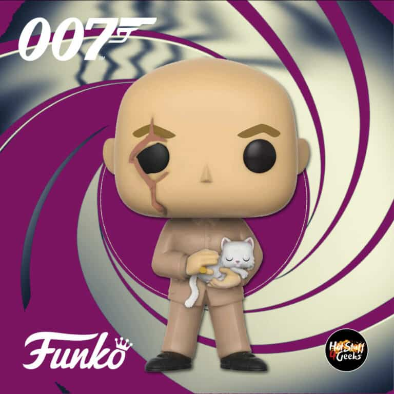 Funko Pop! Movies: 007 James Bond – You Only Live Twice: Blofeld Funko Pop! Vinyl Figure