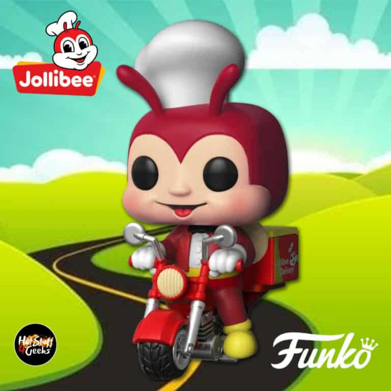 Funko Pop! Rides: The Jollibee on Delivery Bike Funko Pop! Ad Icons Vinyl Figure - Jollibee Delivery App Exclusive
