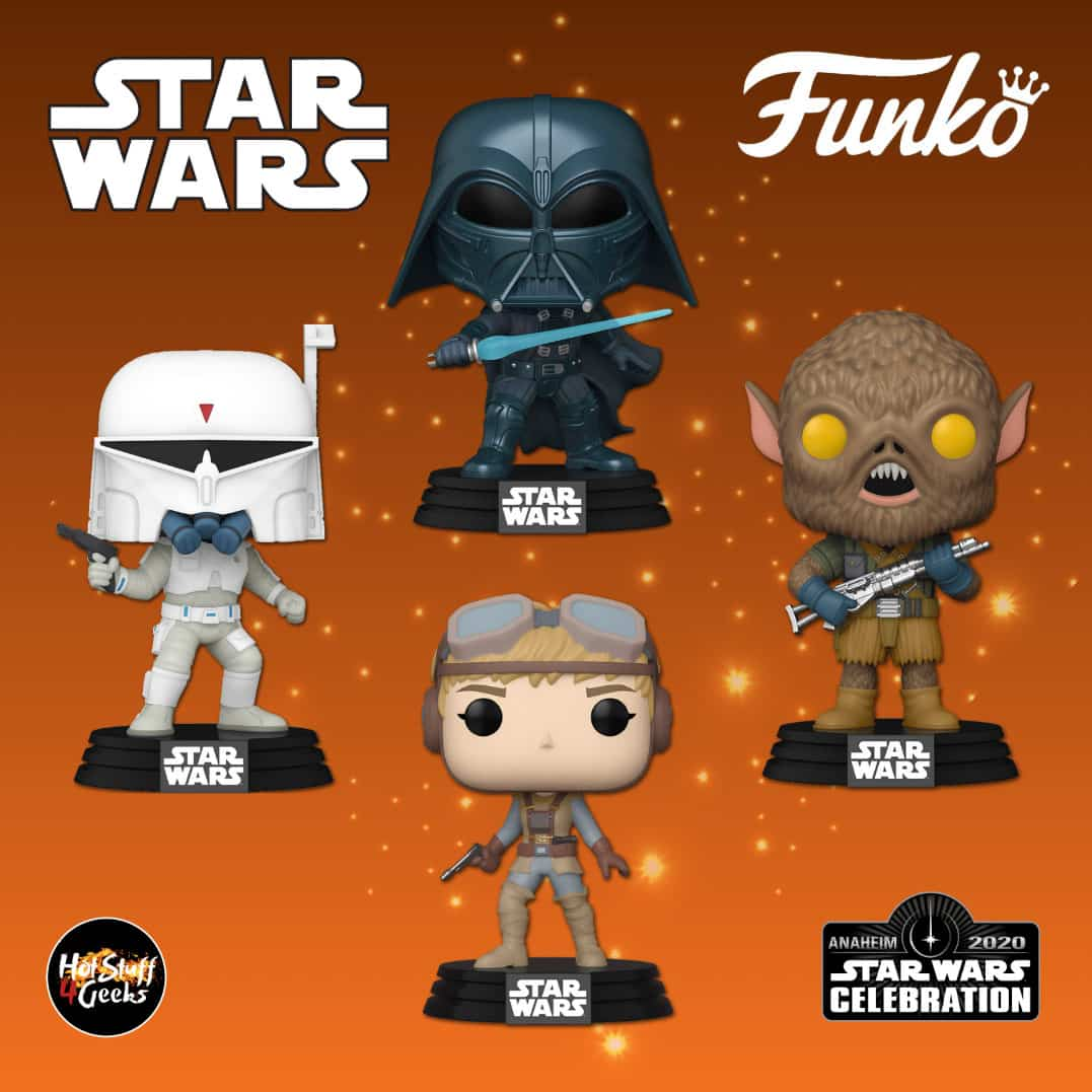 Funko Pop 2020 Star Wars Christmas 2020 NEW Funko Pop! Star Wars: Concept Series   Darth Vader | Hot