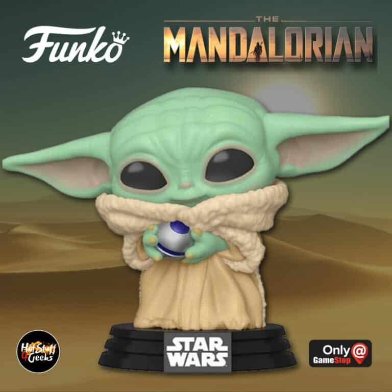 Funko Pop! Star Wars: The Mandalorian - The Child (Baby Yoda) With Control Knob Funko Pop! Vinyl Figure - GameStop Exclusive