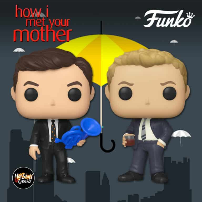 Funko Pop! Television: How I Met Your Mother - Barney Stinson in Suit and Ted Mosby in Suit Funko Pop! Vinyl Figures