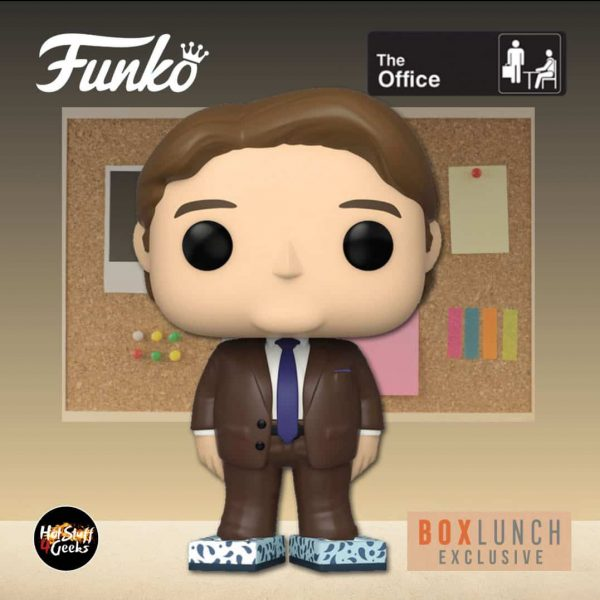 Funko Pop! Television: The Office - Kevin Malone with Tissue Box Shoes (Kleenex ) Funko Pop! Vinyl Figure - BoxLunch Exclusive