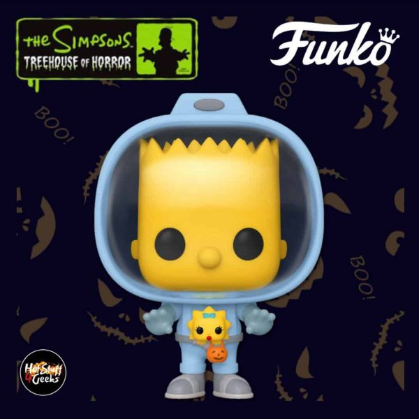 Funko Pop! Animation: The Simpsons Treehouse Of Horror (The Simpsons Halloween specials) - Bart with Chestburster Maggie Funko Pop! Vinyl Figure 2020 Wave