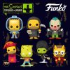 Funko Pop! Television: The Simpsons Treehouse Of Horror (The Simpsons Halloween specials) - Vampire Krusty, Devil Flanders, Zombie Bart, Reaper Homer, Witch Marge, Bart with Chestburster Maggie, and Homer Jack-in-the-Box Funko Pop! Vinyl Figures 2020 Wave
