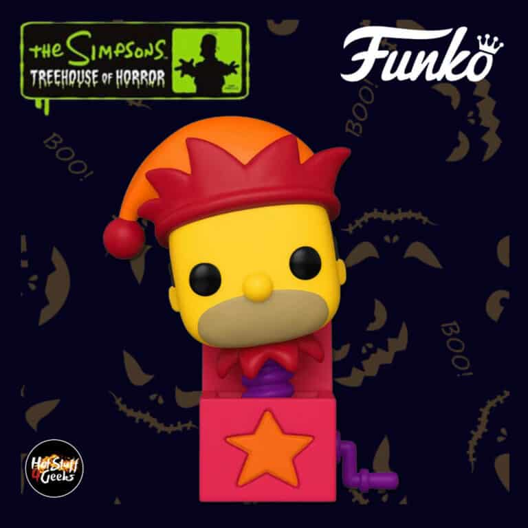Funko Pop! Animation: The Simpsons Treehouse Of Horror (The Simpsons Halloween specials) - Homer Jack-in-the-Box Funko Pop! Vinyl Figure 2020 Wave