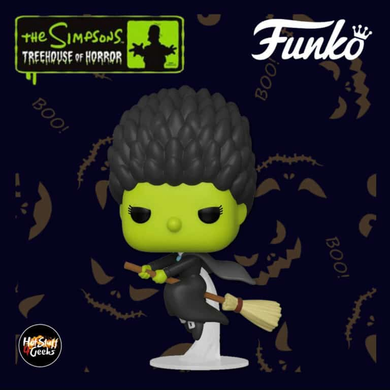Funko Pop! Animation: The Simpsons Treehouse Of Horror (The Simpsons Halloween specials) - Witch Marge Funko Pop! Vinyl Figure 2020 Wave