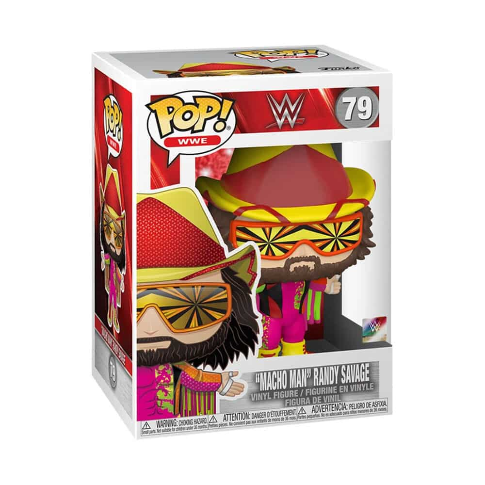 Funko Pop! WWE: NWSS – Macho Man Randy Savage Diamond Collection (Glitter) Funko Pop! Vinyl Figure - GameStop and WWE Shop Exclusives