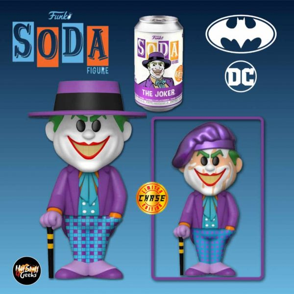 Funko Vinyl Soda: Batman 1989 - Joker Vinyl Soda Figure With Chase Variant