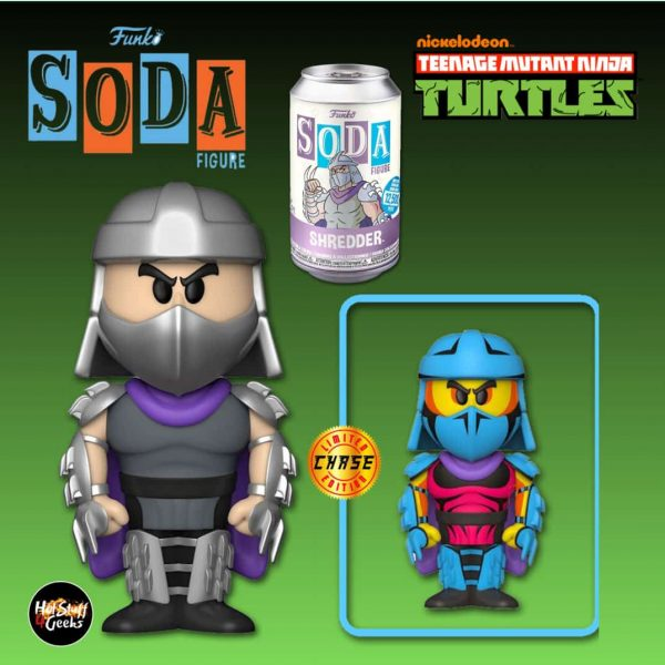 Funko Vinyl Soda: Teenage Mutant Ninja Turtles (TMNT) - Shredder Vinyl Soda Figure With Chase