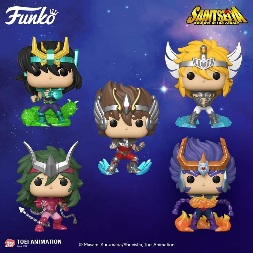 NEW Funko 2020 ! Pop! Animation: Saint Seiya - Pegasus Seiya | Hot Stuff 4  Geeks