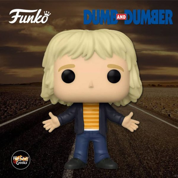 Funko POP! Movies: Dumb and Dumber - Casual Harry Dunne Funko Pop! Vinyl Figure