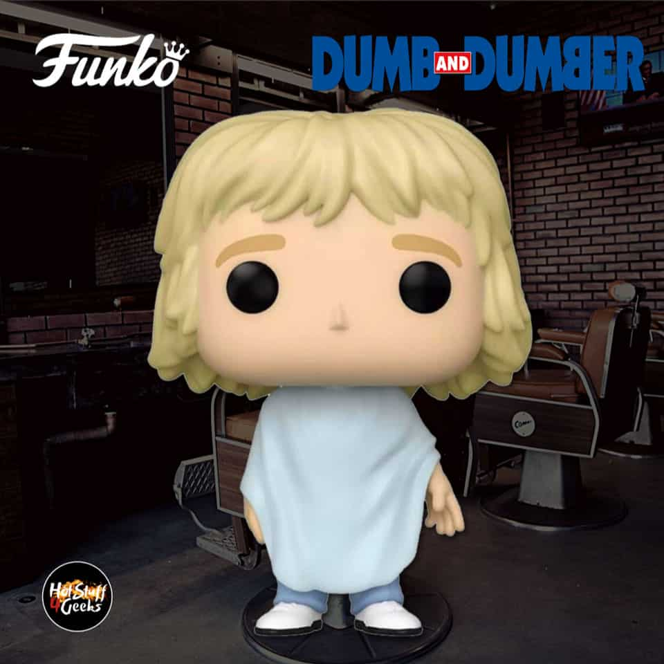 Funko POP! Movies: Dumb and Dumber - Harry Dunne Getting Haircut Funko Pop! Vinyl Figure