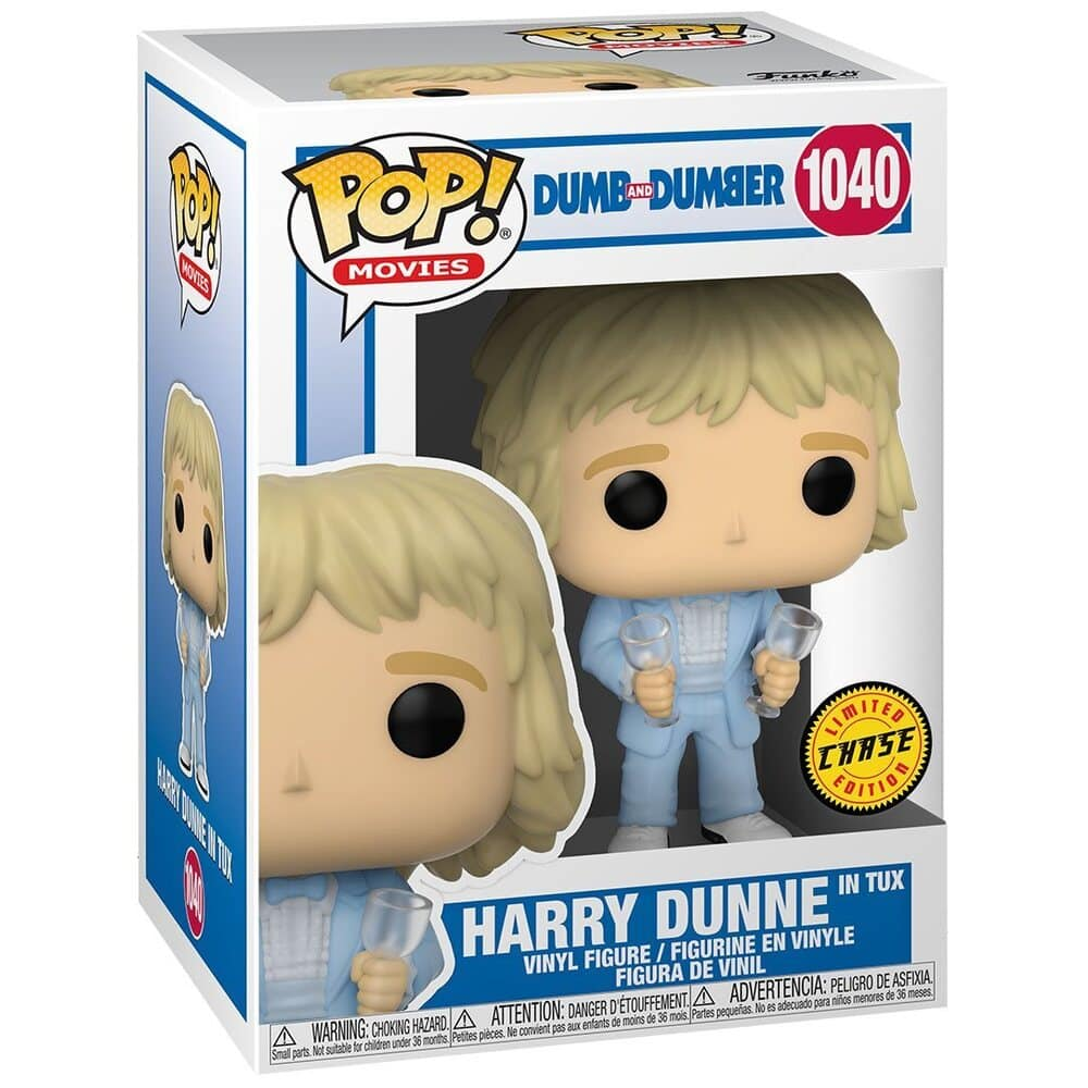 Funko POP! Movies Dumb and Dumber - Harry Dunne in Tux With Chase Variant Funko Pop! Vinyl Figure