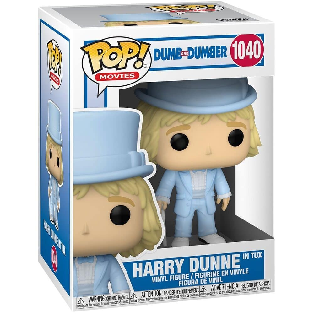 Funko POP! Movies: Dumb and Dumber - Harry Dunne in Tux With Chase Variant Funko Pop! Vinyl Figure