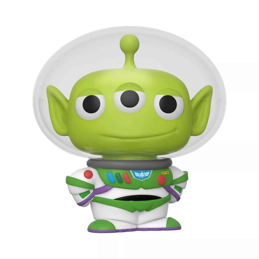 Funko POP! Tees Collectors Box: Disney Pixar Alien Remix - Alien as Buzz Glow-In-The-Dark (GITD) Funko Pop! Vinyl Figure and T-Shirt Bundle - Target