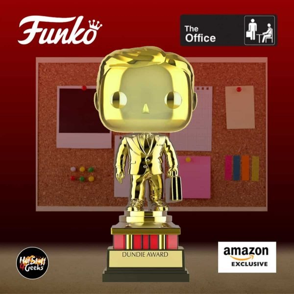 Funko POP! Television: The Office - Customizable Chrome Dundie Award Funko Pop! Vinyl Figure - Amazon Exclusive