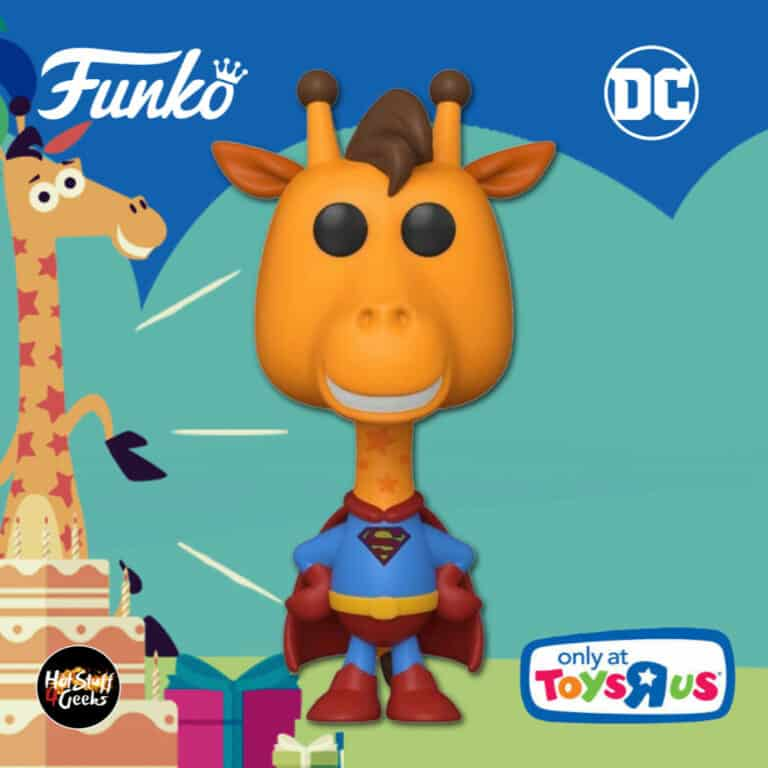 Funko Pop! Ad Icons: DC - Geoffrey The Giraffe as Superman Funko Pop! Vinyl Figure - Toys R Us Canada Exclusive