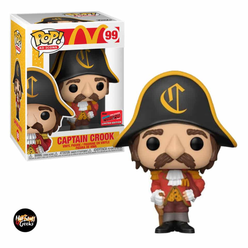 Funko Pop! Ad Icons McDonald's - Captain Crook Funko Pop! Vinyl Figure - NYCC 2020 Exclusive