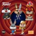 Funko Pop! Animation: DC Looney Tunes - Bugs Bunny 80th Anniversary: Taz as The Flash, Bugs Bunny as Superman, Lola Bunny as Wonder Woman, Wile E. Coyote, and Sylvester as Batman Funko Pop! Vinyl Figure - Fye Exclusive