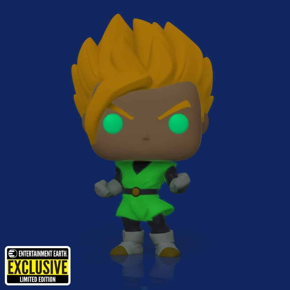Funko Pop! Animation: Dragon Ball Z (DBZ) - Super Saiyan Gohan Glow-in-the-Dark (GITD) Funko Pop! Vinyl Figure - Entertainment Earth Exclusive