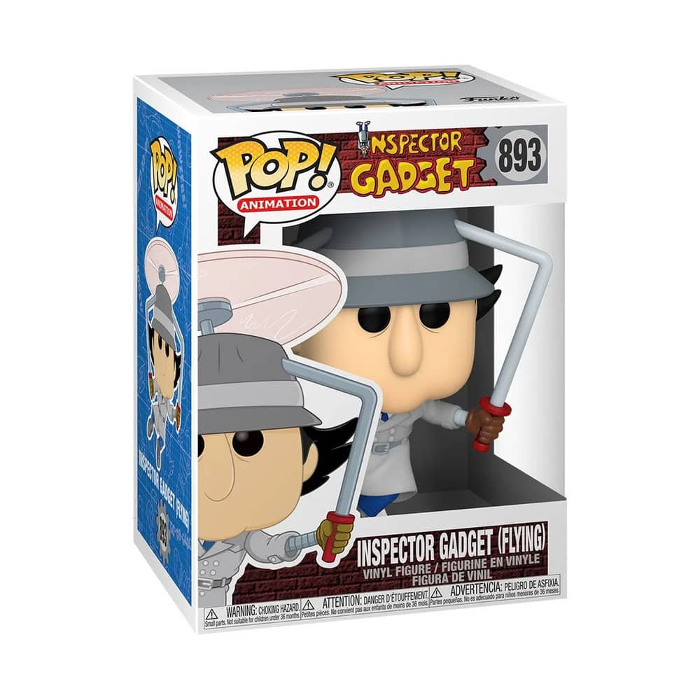Funko Pop! Animation Inspector Gadget - Inspector Gadget Flying