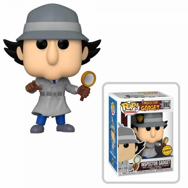 Funko Pop! Animation: Inspector Gadget - Inspector Gadget With Chase Variant Funko Pop! Vinyl Figure