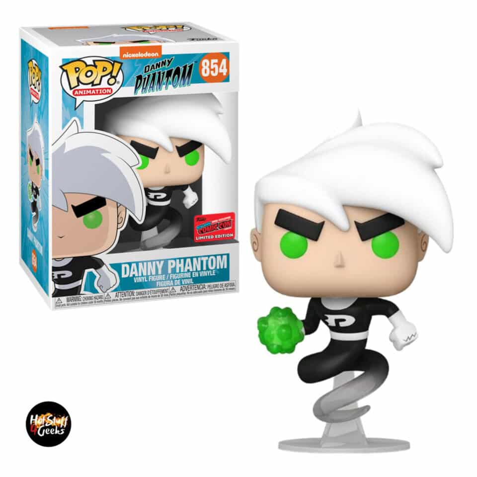 Funko Pop! Animation Nickelodeon Danny Phantom - Danny Phantom Funko Pop! Vinyl Figure - NYCC 2020 Exclusive