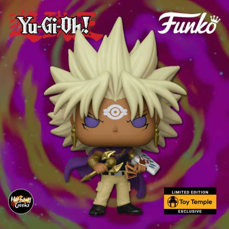 Funko Pop! Animation: Yu-Gi-Oh! - Yami Marik Funko Pop! Vinyl Figure - Toy Temple Exclusive
