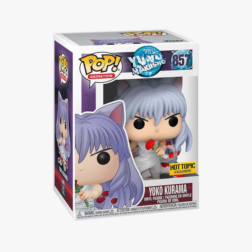 Funko Pop! Animation: Yu Yu Hakusho - Yoko Kurama Funko Pop! Vinyl Figure - Hot Topic Exclusive