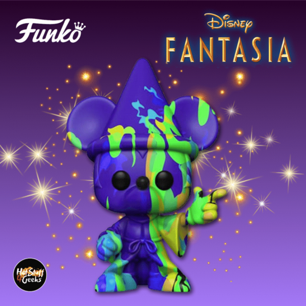 Funko Pop! Art Series: Disney Fantasia 80th Anniversary: Mickey (Purple-Green) Funko Pop! Vinyl Figure 2020