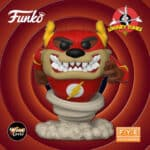 Funko Pop! Animation: DC Looney Tunes - Bugs Bunny 80th Anniversary: Taz as The Flash Funko Pop! Vinyl Figure - Fye Exclusive