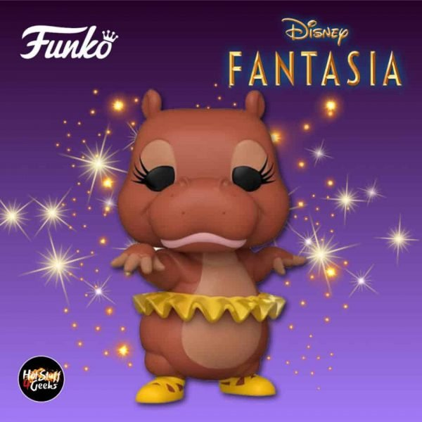 Funko Pop! Disney Fantasia 80th Anniversary: Hyacinth Hippo Funko Pop! Vinyl Figure 2020