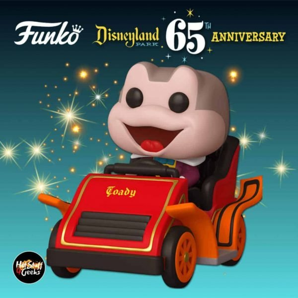 Funko Pop! Rides: Disneyland Resort 65th Anniversary – Mr. Toad at the Mr. Toad's Wild Ride Attraction Funko Pop! Vinyl Figure