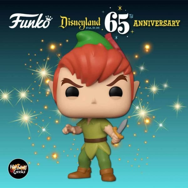 Funko Pop! Disney: Disneyland Resort 65th Anniversary – Peter Pan Funko Pop! Vinyl Figure