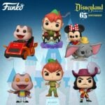 Funko Pop! Disney: Disney 65th – Mr. Toad with Spinning Eyes, Peter Pan, Captain Hook, Peter Pan at Peter Pan's Flight Attraction, Mr. Toad at the Mr. Toad's Wild Ride Attraction and Minnie Mouse on Dumbo the Flying Elephant Attraction Funko Pop! Vinyl Figures - Wave 2