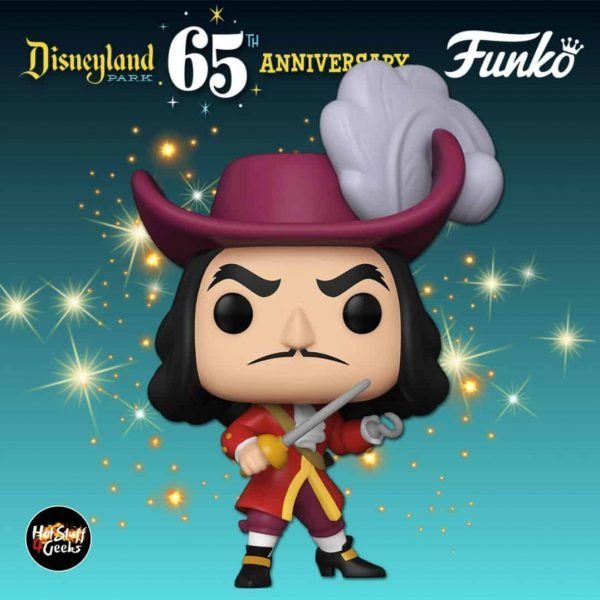 Funko Pop! Disney Disneyland Resort 65th Anniversary – Captain Hook Funko Pop! Vinyl Figure