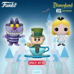 Funko Pop! Disney: Disneyland Resort 65th Anniversary - Alice in Wonderland at the Mad Tea Party Attraction: Cheshire Cat, Alice, and Mad Hatter In Teacup Funko Pop! Vinyl Figures - Target Exclusives
